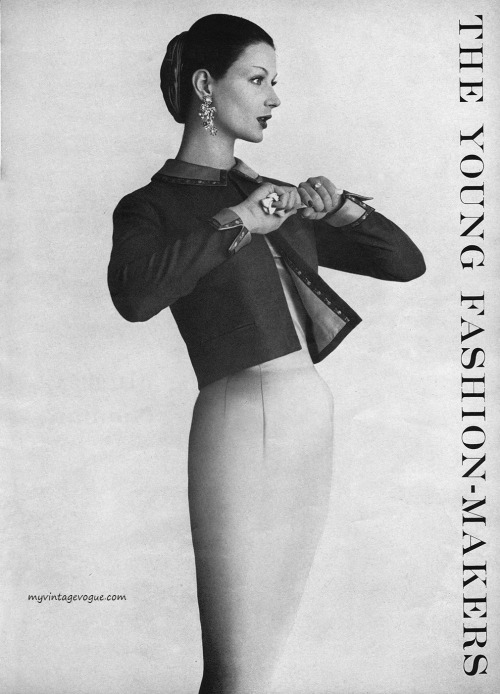 Mademoiselle September 1955 - photo by Mark Shaw Conde Nast Archive