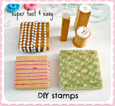 (via Everyday is a Holiday: fast & easy DIY stamps: perfect for your art journal!)