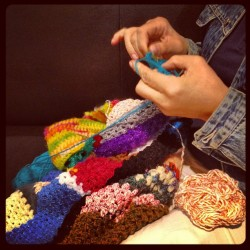 03:27 #gatwick #airport #mum #mama #mother #knitting #crochet #needle #yarns #wool #silk #love #colors #airplane #instafamous #instagram #london #thessaloniki #2012 (Taken with Instagram at London Gatwick Airport (LGW))