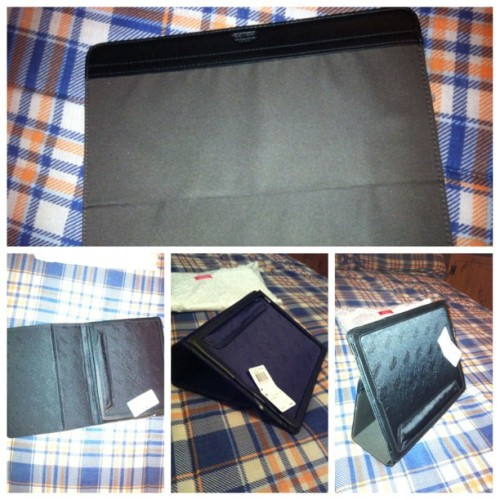 My mommy bought me a Coach iPad case!!! :) I love you mom! #TeamApple #iPad #Coach #picstitch (Taken with Instagram)