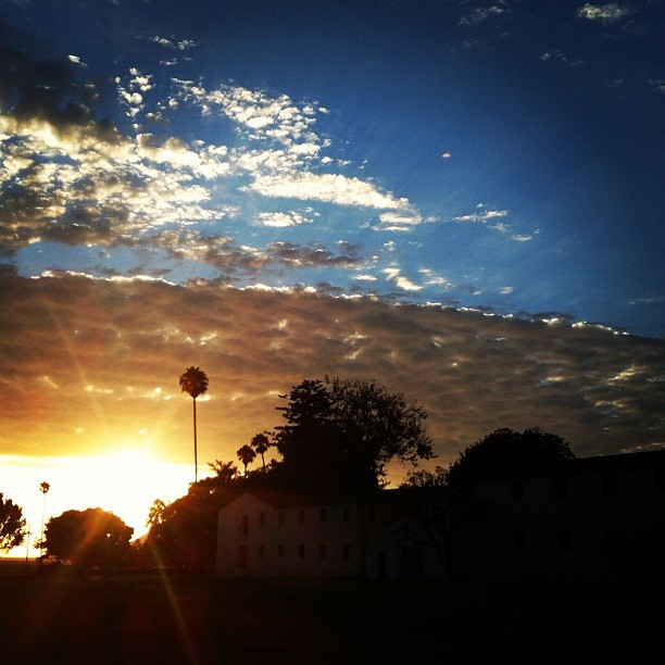 Heading toward sunset about 30 minutes ago. #csuci #sunset (Taken with Instagram at CSU Channel Islands)