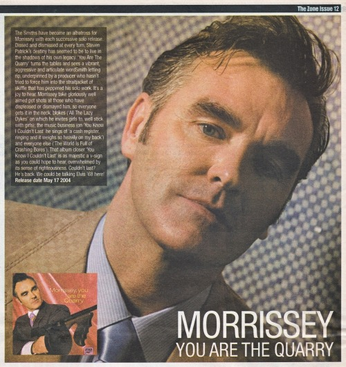 "Review of ""You are the quarry"" for The Zone, May/June 2004."