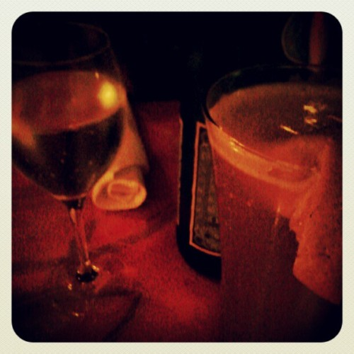 Jazz place again :-) #beer #sparklingwater  (Taken with Instagram)