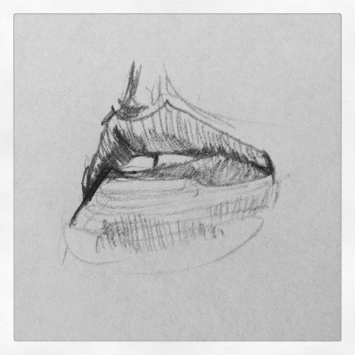a quick pencil sketch http://instagr.am/p/O-f82ZmfxJ/
