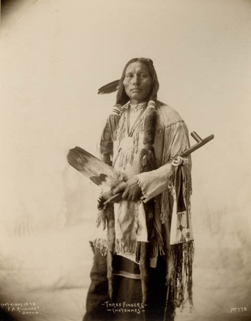 wickwareboisseau:  Three Fingers, Cheyenne