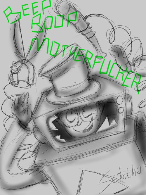 I got the superjail season 2 dvd today i'm happy so here is another warden