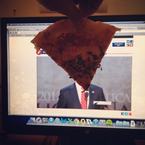 Guys don't worry I fixed everything. Pizza Romney is a candidate you can trust.