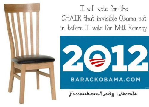 Invisible Chair »» Romney.