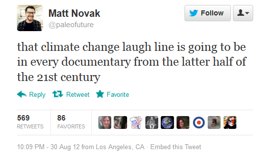 We're literally ruining the planet, endangering our lives, and all the GOP can do is laugh about it.