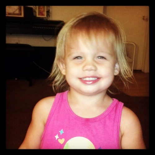 #pretty #baby #smile #emma (Taken with Instagram)