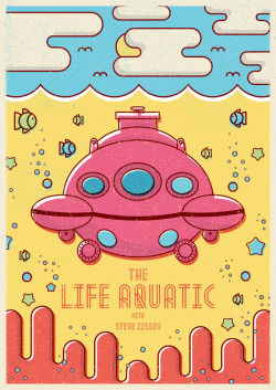 rawbdz:  The Life Aquatic With Steve Zissou by Maurício Cardoso