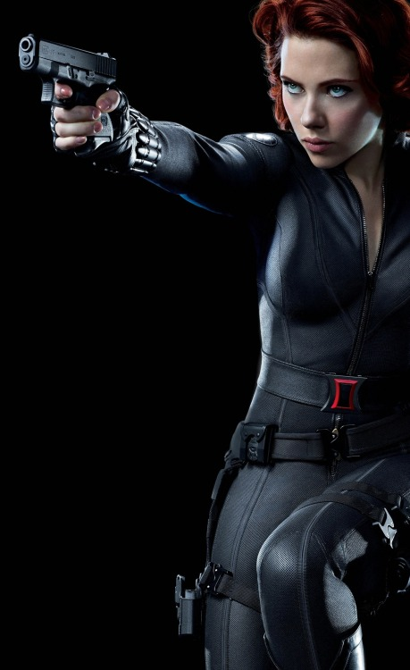 gasstation:  Scarlett Johansson as Black Widow