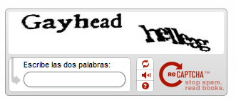Captcha won't like my new haircut ?