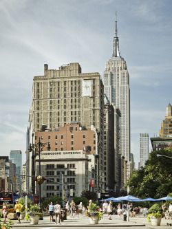 Fifth and Broadway on Flickr. View of the Empire State Building from the bottom of the Flatiron.Flickr | 500px