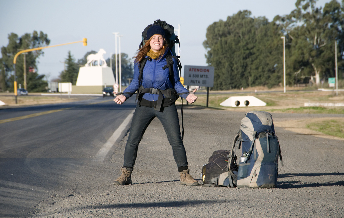 Hitchhiking to Buenos Aires On the road, Argentina - © Diego Cupolo 2012