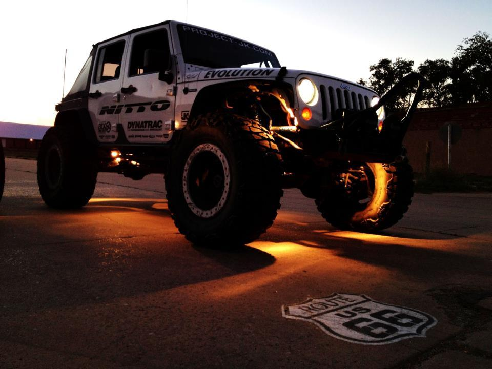 Project JK Moby on route 66