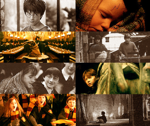THE MAGIC BEGINS  ϟ 3 - favourite  film → Harry Potter and the Order of the Sorcerer's Stone