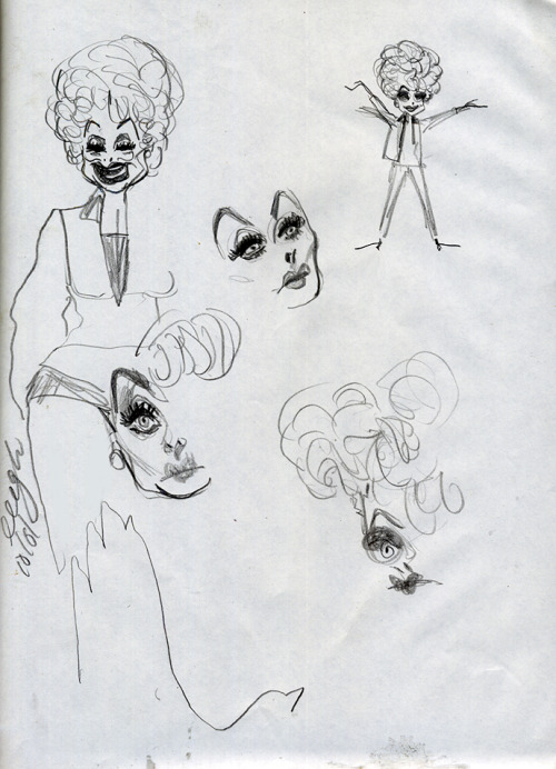 lucy sketches from the archive, after dark lolol