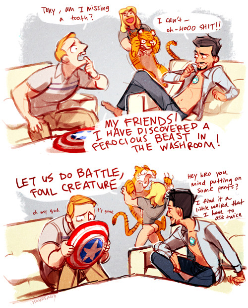 hoursago:  katsallday:  hoursago:  guys where the hell is clint   I had to do it. I'm so sorry.  fffhhh aaaahhhh