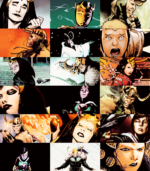Ivy's favorite comic book characters ☇ Loki Laufeyson   To achieve this, my very self is mortgaged to wicked creatures time and time over. I have freed one of Asgard's greatest enemies and facilitated the death of our greatest protector. My people will still loathe me, and the grave holds the one who protected me. I do not know 'what now.' I think if I thought of it, I would weep for me. But that would be awfully self-centered wouldn't it? Let's save worrying about tomorrow for our newly purchased dawn.