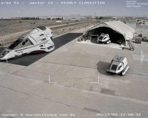 therealfrontier:  Area 51 Hanger.  By Todd587.