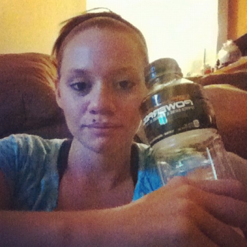 My post practice powerade #fitness #football (Taken with Instagram)