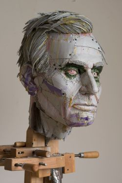 laughingsquid:  Cardboard Busts by Scott Fife