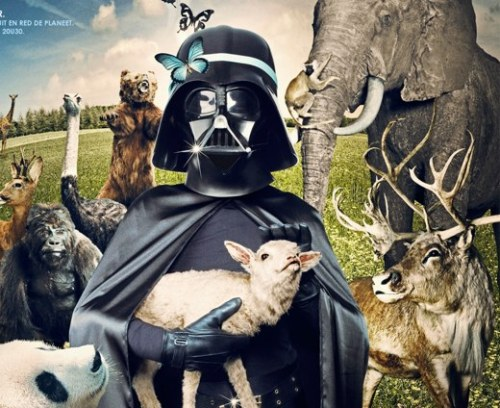 This made me smile :) never pictured a good side to vader b4…. http://scificity.tumblr.com