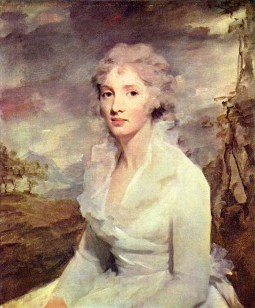 18thcenturylove:  Portrait of Ms. Eleanor Urquhart by Henry Raeburn, 1795