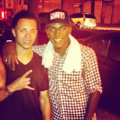 Is all love on this side! @drizzywill  (Taken with Instagram)