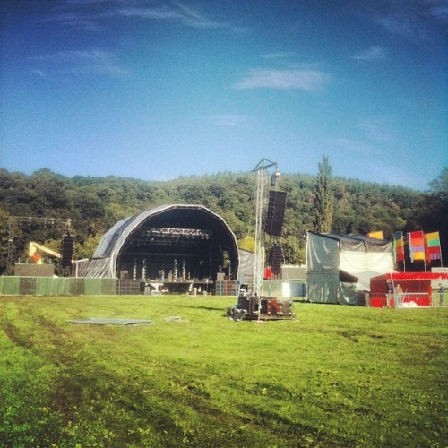 @bingleyfestival in the #sunshine  (Taken with Instagram at Myrtle Park)