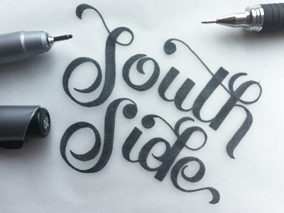 type-lovers:  SOUTH SIDE Designed by  Jose Renteria.