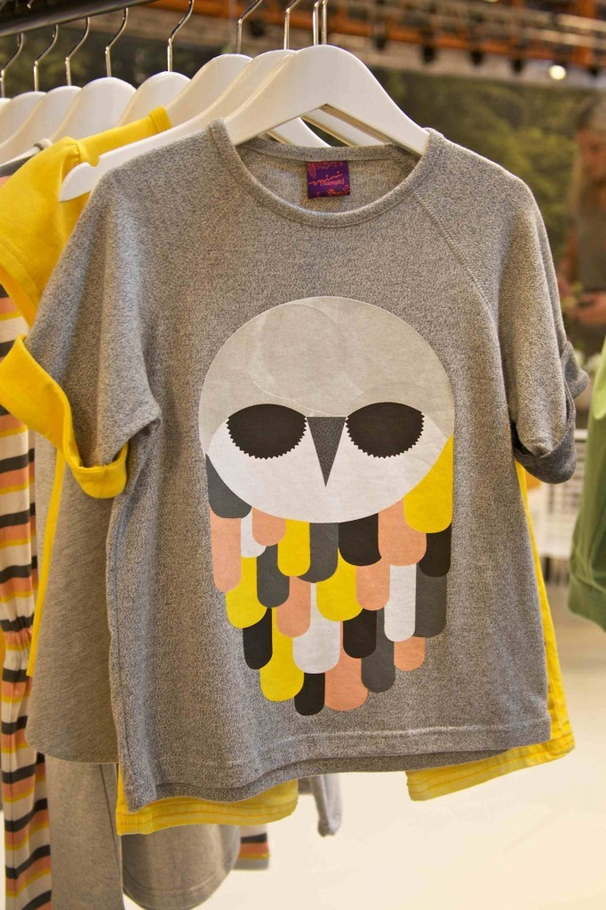 The owl lives on at Mini Numph for kids fashion summer 2013