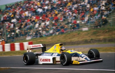 Thierry …Thierry Boutsen, Canon Williams-Renault FW13B, 1990 Japanese Grand Prix, Suzuka
