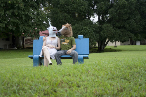 Photo of the Day: Horsemask w/ awesomepony