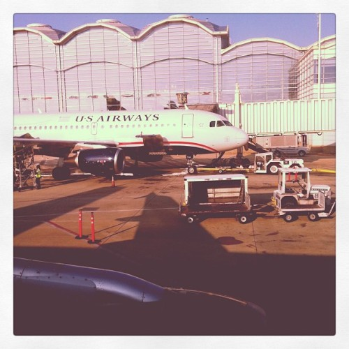 The view from 4A (Taken with Instagram at DCA – Gate 38 (US))