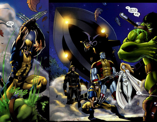 The parents are home  World War Hulk: X-men