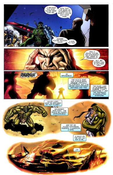 Planet Hulk was my first comic series I've ever read. What a dramatic, perfect thing it was.