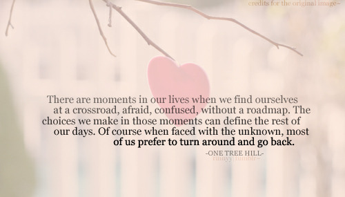 quote-book:  One Tree Hill / via rinnyy.