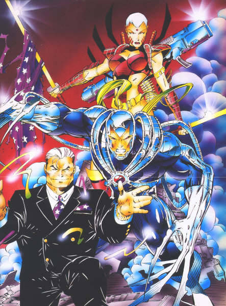 WildC.A.T.s by Jim Lee