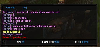 "wow-images:  ""All i asked was if he wanted to sell some ore O.o"""