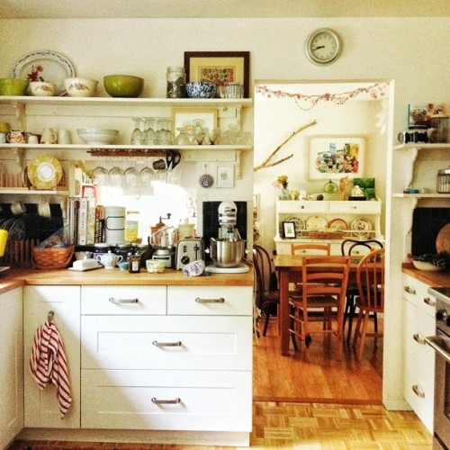 Morning in the kitchen (Taken with Instagram)