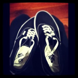 :D my new shoes ! #Vans #cool #bejealous #excited (Taken with Instagram)
