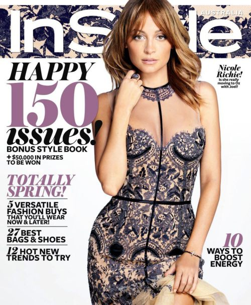 Nicole Richie for InStyle Australia September 2012