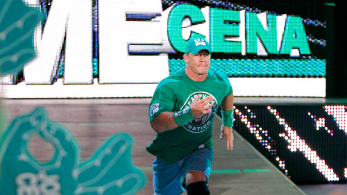"John Cena proves he's a really, really cool guy: August 31, 2012 This is the greatest thing I have ever read. Game Informer's Dan Ryckert sent a post-Raw dark match report to With Leather, and it's proof that John Cena gets it. Seriously, the Dr. of Thuganomics did one of the coolest things ever for a fan with a mental disability who was sitting in the front row. From Ryckert's report: ""This kid had several Cena shirts that he cycled through during the show, and was obviously a massive fan. Near the end of the bonus dark match, Cena was down on the mat as Big Show was preparing the WMD punch. As the kid in the front row desperately tried to warn Cena about the incoming attack, Cena looked directly at the kid and said something to the effect of ""What? Behind me?"" He turned around, ducked Show's punch, hit the AA, and won the match. Immediately after the three-count, he walked up to the kid, thanked him for the heads-up, gave him his wristband, and posed for a picture with him. I've never seen a wrestling fan look so elated. I don't care how smarky or jaded you are, that's just f**king heartwarming."" Agreed. That's super cool."