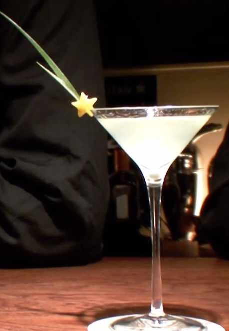 In Japan, they will make you a cocktail that looks like this.