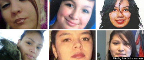"jalwhite:  Missing Manitoba Women: Why Are Manitoba's Aboriginal Women Going Missing? In October 2011, Shannon Buck's daughter disappeared. Fourteen-year-old Lauren had taken off for a weekend or two before, but always returned to her Winnipeg home. ""I knew that something wasn't right,"" says Buck. She filed a missing persons report with the police and created posters with an online kit. Lauren's photo and description appeared on the Facebook page Missing Manitoba Women. Quickly it gained hundreds of shares. Two days later, it was thousands. Then, two weeks after Buck had last seen her daughter, the phone rang. Lauren called her mom from a hotel where a woman had recognized her from the Facebook page, and stayed with the teenager until Buck could pick her up. ""I couldn't stop hugging her,"" says Buck. ""It was a big relief to be able to have someone find her, take care of her and contact us and let us know where she was."" It was also a relief for Shelley Cook, the founder of the Facebook page, who since June 2011 has dedicated her time to tracking and sharing cases of missing people in Manitoba. Cook started the page and a blog as a university project, but kept it going after her course ended, enlisting the help of two friends. She doesn't even have Internet access at home, posting new cases from her phone for the page's almost 6,000 followers to share. ""I wanted to humanize [these women],"" says Cook. She says that missing aboriginal women are too often portrayed as nothing more than sex workers, addicts or otherwise 'at-risk' persons. Cook tries to work with families to gather personal details and images that aren't mugshots. Missing Manitoba Women does not restrict the cases to aboriginal women — or even solely to women — but that's who makes up the majority of the cases. It's estimated that 75 aboriginal women have disappeared in Manitoba in the last two decades. Across Canada, The Native Women's Association of Canada says more than 600 women have gone missing or been murdered since 1990. Aboriginal women are three-and-a-half times more like to experience violence and for younger women, are five times more likely to die from violence than non-aboriginal women in Canada. And Manitoba, where the highest percentage of aboriginal women live, has seen more than its share of tragedy. In June, Shawn Lamb was arrested and charged in the serial murders of three aboriginal Winnipeg women: Carolyn Sinclair, Tanya Jane Nepinak and Lorna Blacksmith. Lauren was missing during the time between when police allege he killed Nepinak and Sinclair. ""The community knew who this person was and that there was a serial killer,"" says Buck. ""They didn't listen to us and it cost three women their lives … at least three women."" Buck says communication between the aboriginal community and police can be shaky at best, with families of missing and murdered women sometimes hearing about the fate of a loved one from the media before police. In May 2011, the RCMP and Winnipeg Police launched Project Devote, a joint task force that narrowed down dozens of cases to eight missing persons and 20 murders dating back to 1961 on which to focus. Twenty-seven out of 28 of these victims are women, and many are aboriginal. While the task force identifies the common factor in these cases as ""[victims] of high or extremely high risk due to lifestyle,"" nowhere in Project Devote's mission is the word ""aboriginal"" mentioned. This fact has not escaped the notice of the community, and criticism has been swift. ""It is our hope that these investigations will produce leads that will provide these families with much needed relief and closure,"" Derek Nepinak, grand chief of the Assembly of Manitoba Chiefs, said in a news release. ""Until the province of Manitoba recognizes the problem of missing and murdered people is worse and getting worse in the Indigenous community, Project Devote will remain limited in scope and outcome."" Cook says she's glad that something, anything, is being done, but she's not convinced Project Devote can get the job done. ""I'm a little skeptical,"" she says. ""I'm hoping for the best, but I'm not thinking this will be the be all and end all."" RCMP and police have also been quiet on the Project's progress, denying interviews and updates to media, including the Huffington Post Canada. Niki Ashton, MP for Manitoba's Churchill riding and a vocal advocate for a national inquiry, says by not addressing aboriginal women specifically, we still don't know the full scope of the problem. ""It's completely inadequate to say a general database of missing people, which is what federal government committed to, is a response to dealing with missing and murdered aboriginal women. It simply isn't,"" says Ashton. ""Some of the positive initiatives that were part of finding a solution, like Sisters In Spirit, were not only not supported, but they were actually cut,"" she says. Sisters In Spirit, a Native Women's Association of Canada initiative to build awareness of missing and murdered women, was working on gathering information to start a database, but was defunded in 2010. In the mean time, grassroots initiatives like Missing Manitoba Women are gaining a wave of new voices as discussions that were once kept inside the community are erupting into a larger dialogue. Buck says she has always been an advocate for aboriginal women, but when it hit so close to home, she found her voice. ""The line has been crossed, I can't be silent anymore,"" says Buck. ""Not only for my daughter, but for all of our daughters, all of our sisters, enough is enough."" Whether Manitoban or not, aboriginal or not, Cook says anyone can help by simply sharing the images and stories of missing women across their own Facebook pages, as hundreds of others are already doing every time a new face appears. ""One of the best ways to help is to not turn a blind eye to it anymore. Not go home to your comfortable homes and pretend it's not there. To stand up and to say something, and to not wait for someone else to do it,"" says Buck. ""Because it could be their daughter next, or their sister, or their mother."""