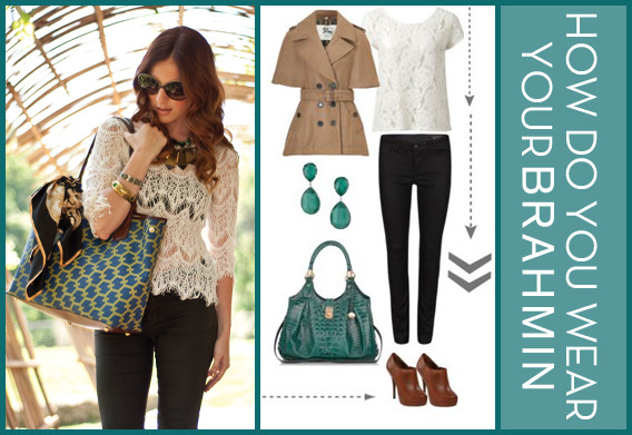 Get inspired by your favorite blogger's Brahmin style and create a look to show us how you would wear the Fall '12 bags. Share your unique style and you could be off to Massachusetts to meet Brahmin designers and become the namesake of a brand new bag! ENTER TO WIN  View this collection on Polyvore How Do You Wear Your Brahmin? - Entries on polyvore.com