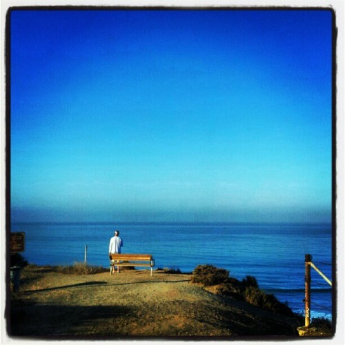 #surfcheck with Dad, trails #OC (Taken with Instagram at San Onofre Bluffs - Trail 1)