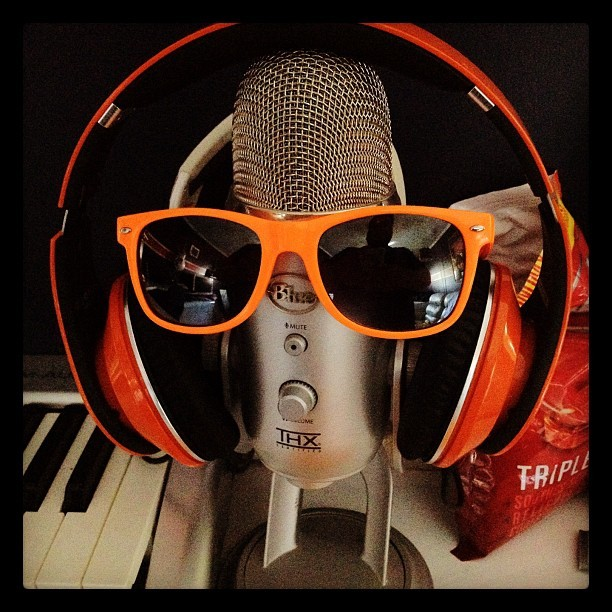 Meet my little recording buddy #mic (Taken with Instagram)